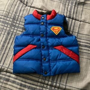 Toddler Superman Vest